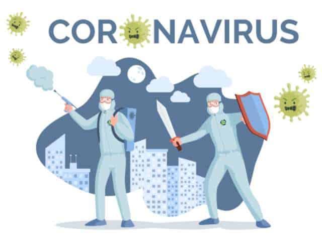 Corona desinfectie door Micro Reiniging desinfectie Corona