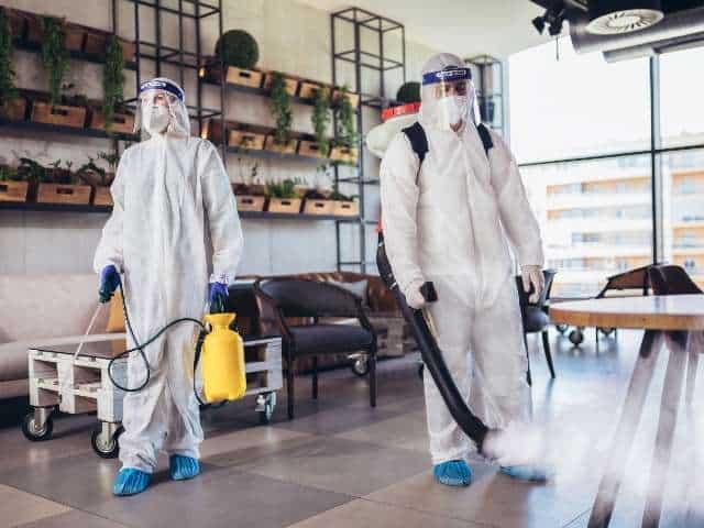 Ruimte desinfectie Micro Reiniging desinfectie ruimtes